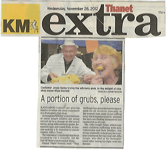 Featured on the KM Extra in Thanet